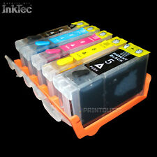 CARTOUCHES Rechargeables Inktec Encre Encre pour Canon Pgi 5 Cli 8 Bk Y M C
