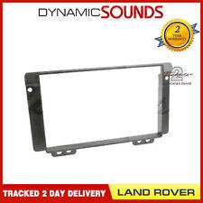 CT24LR03 Double Din Black Fascia Panel Surround For Land Rover Freelander 04-06
