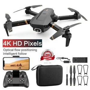 Drone Dual Camera Quadcopter Real time transmission helicopter 4k HD Wide Angle