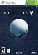 XBOX 360 Limited Edition DESTINY with SteelBook Case NEW