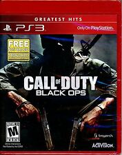 CALL OF DUTY BLACK OPS w/DLC  GH (PS 3, 2011) (2172)  ****FREE SHIPPING USA****