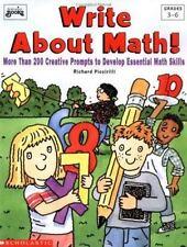 Write About Math (Grades 3-6), Piccirilli, Richard S., Scholastic Books, 0590674