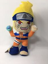 "NWT Japanese Anime Naruto  Plush Doll 9"" Banpresto"