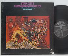 Stan Getz          Communications´72         Verve        USA      NM # 54