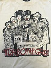 VINTAGE Turbonegro Band T-shirt Adult Size Medium. GOOD Condition