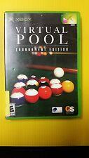 XBox - Virtual Pool - Tournament Edition (C6/S1)