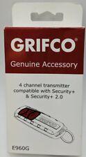 Grifco Genuine Accessory Garage Door Opener 4 Channel Transmitter E960G