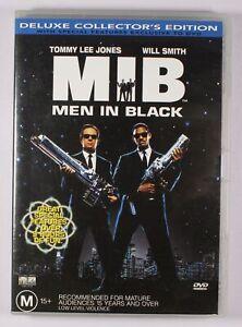 Men In Black DVD Deluxe Collectors Edition FREE POST
