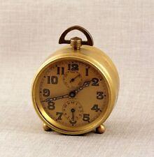 ZENITH MILITARE OROLOGIO SVEGLIA reiseuhr 1910s Military allarme clock Pocket Watch Orologi