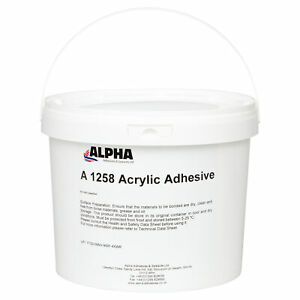 Alpha A1258 Acrylic Adhesive for flooring, soundproofing and insulating