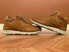 Rare New Balance 574 Mid Leather Casual Lifestyle Sneakers Size 10.5 MH574WTA