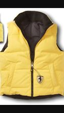 Ferrari Kids Reversible Yellow And Blue Vest Jacket Size 3-4