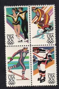 USA 1984 Sarajevo Olympics, MNH block, sc#2070a  [U40]