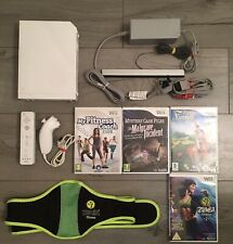 Wii console bundle, Controller, Leads, And Games