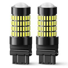 2X Auxito 3157 3156 3457 Led Backup Reverse Turn Signal Light Bulb White Lamp(Fits: Neon)