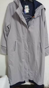 Juniors trench coat jacket SZ. L ARGE Her Universe Doctor Who Thirteenth