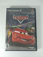 Disney Pixar Cars Sony PlayStation 2 2006 PS2 Game Tested Working