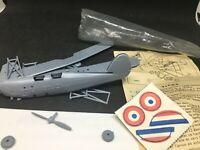 Jouet ancien plastique maquette Avion TIGRE publicitaire BONUX