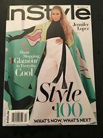 K) New Instyle Jennifer Lopez JLO Glamour Style December 2018 Fashion Magazine