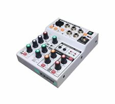 MIXER ECONOMICO 3 CANALI CON SCHEDA AUDIO USB INTEGRATA COMPATTO ZZMX3 BLUETOOTH