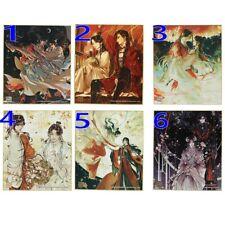6pcs Anime Tian Guan Ci  Fu Colored Paper Signature Signing Board Color Sheet
