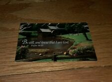 1994 Son Shine Christian Bookstore Moorestown NJ Calendar Be Still Know I'm God