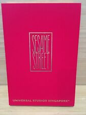 Sesame Street Notebook Universal Studios Singapore -Red