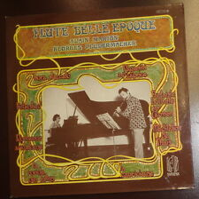 "Flute ""belle epoque"" - by Alain Marion; Georges Pludermacher  - LP -"