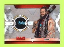 "2019 Topps Wwe Raw ""Silver"" Elias Event Worn Shirt Relic #21/25"