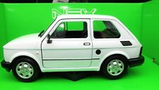 MODELLINO AUTO FIAT 126 SCALA 1:24 CAR MODEL MINIATURE DIECAST MODELO WELLY NEUF