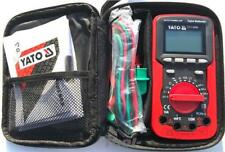 Yato electrical digital multimeter auto range, power off phase sequence YT73086