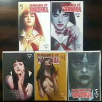 Vengeance of Vampirella #1 2 3 4 5 Ben Oliver Variant 5 Comic Lot