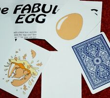 Eggs-traordinary -- comedy packet trick.  Lay an egg, in a good way!        TMGS