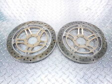 Honda 599 CB 600 F Hornet Front Left Right Brake Rotors Discs SUNSTAR