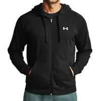 Under Armour Mens Hoodie Full Zip Up Jacket Sweatshirt Cotton Hoody Hooded Top