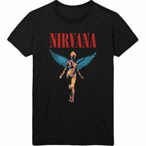 Nirvana Angel In Utero Men's Black T-Shirt Licensed Official S M L XL