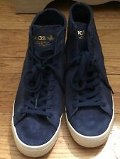 mens adidas high top sneakers Size 11