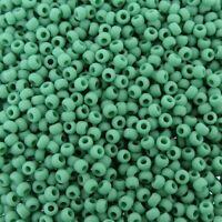 Toho 80 Round Seed Beads Transparent Dark Aquamarine FF--TR-08-3B Approximately 24GM