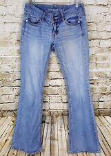 American Eagle Artist Cut Jeans Womens Size 2 Short Blue Denim Pants Casual