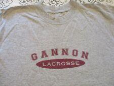 Gannon University Golden Knights Lacrosse Long Sleeve T-Shirt- Large Erie Pa #2