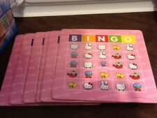 Hello Kitty Big Roll Bingo Replacement Bingo Cards