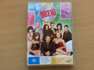 Beverly Hills 90210 Season 9 The Ninth Series Nine Luke Perry(DVD 1998 6-Disc)R4