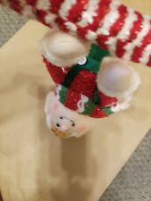 Christmas Decoration Elf Doll Plush Hanging from candy cane