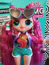 LOL OMG Roller Chick Doll with Original Box and Accessories Full Outfit Restyled