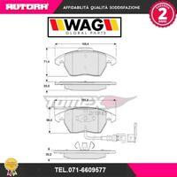 1311 Kit pastiglie freno a disco ant.adatto a .Audi-Seat-Skoda-Vw (MARCA WAG)