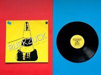 KRAFTWERK LP Ruckzuck THE TECHNOCRATS Pylone GELB grün 1991 VINYL Schallplatte 1