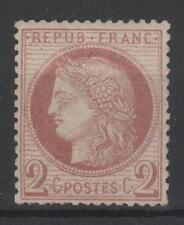 """FRANCE STAMP TIMBRE 51 """" CERES 2c ROUGE-BRUN 1872 """" NEUF xx TB A VOIR   M779"""