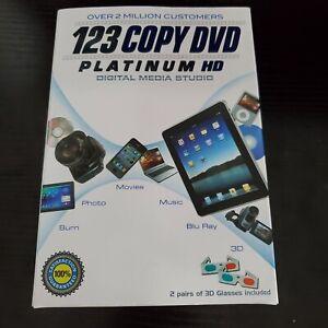 123 Copy DVD Platinum HD - Digital Media Studio