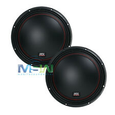 "(2) MTX 5510-44 10"" 55-Series DUAL 4-OHM CAR AUDIO STEREO SUB SUBWOOFERS *PAIR*"