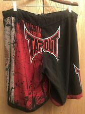TAPOUT MMA MEXICAN Flag Motif Men's Graphic Fighting/Board Shorts 🇲🇽 42W